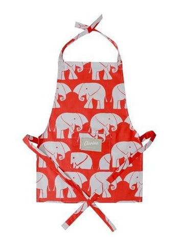 Childrens' Apron - Nellie Red and Stone