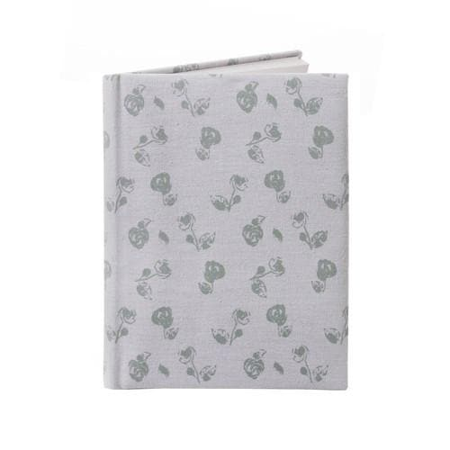 Vintage Floral Fabric Covered A5 Notebook - Aurina Ltd