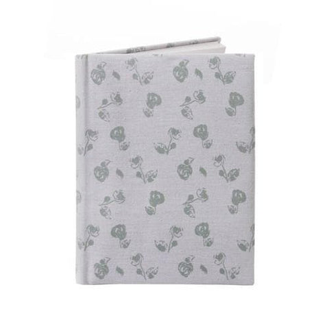 Vintage Floral Fabric Covered A5 Notebook