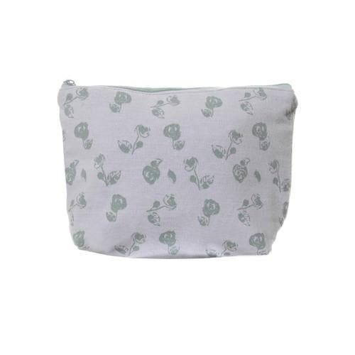 Vintage Floral Make Up Pouch