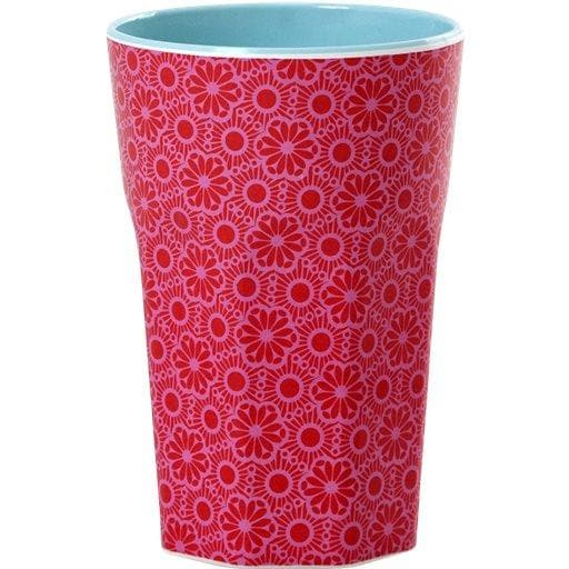 Tall Marrakesh Print Cup in Pink -  - aurina-ltd-2