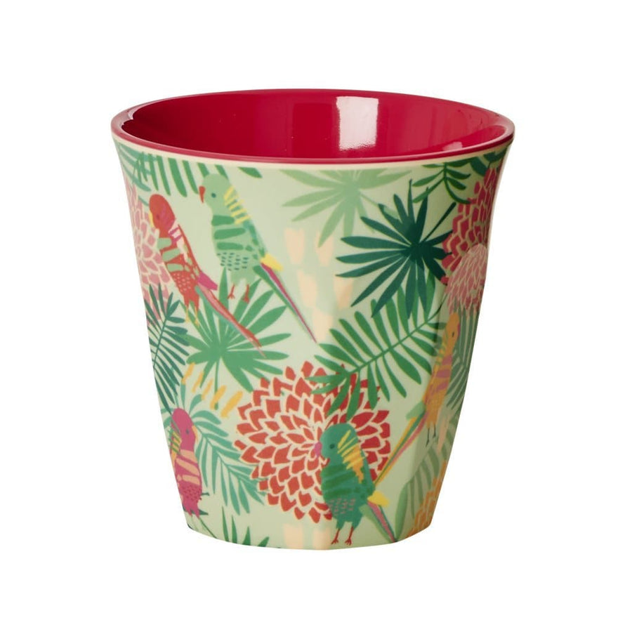 Medium Tropical  Melamine Cup -  - aurina-ltd-2