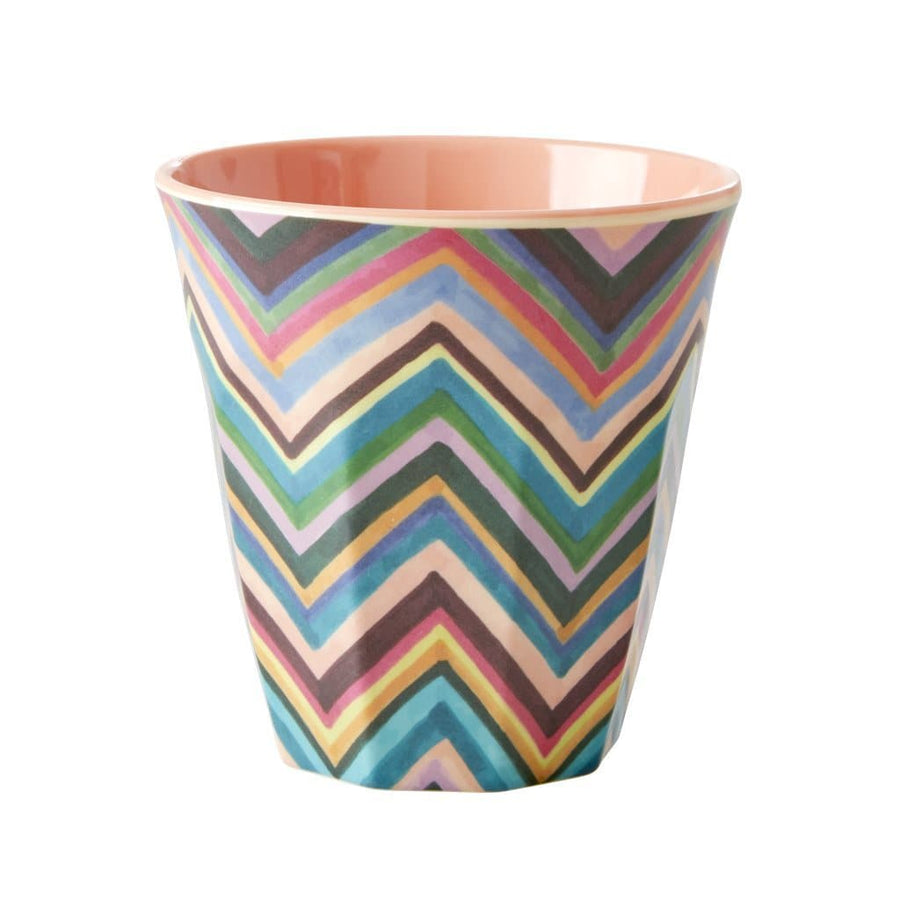 Medium Zig Zag Melamine Cup -  - aurina-ltd-2