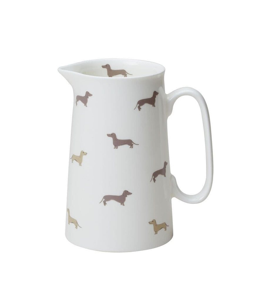 Dachsie Medium Bone China Jug