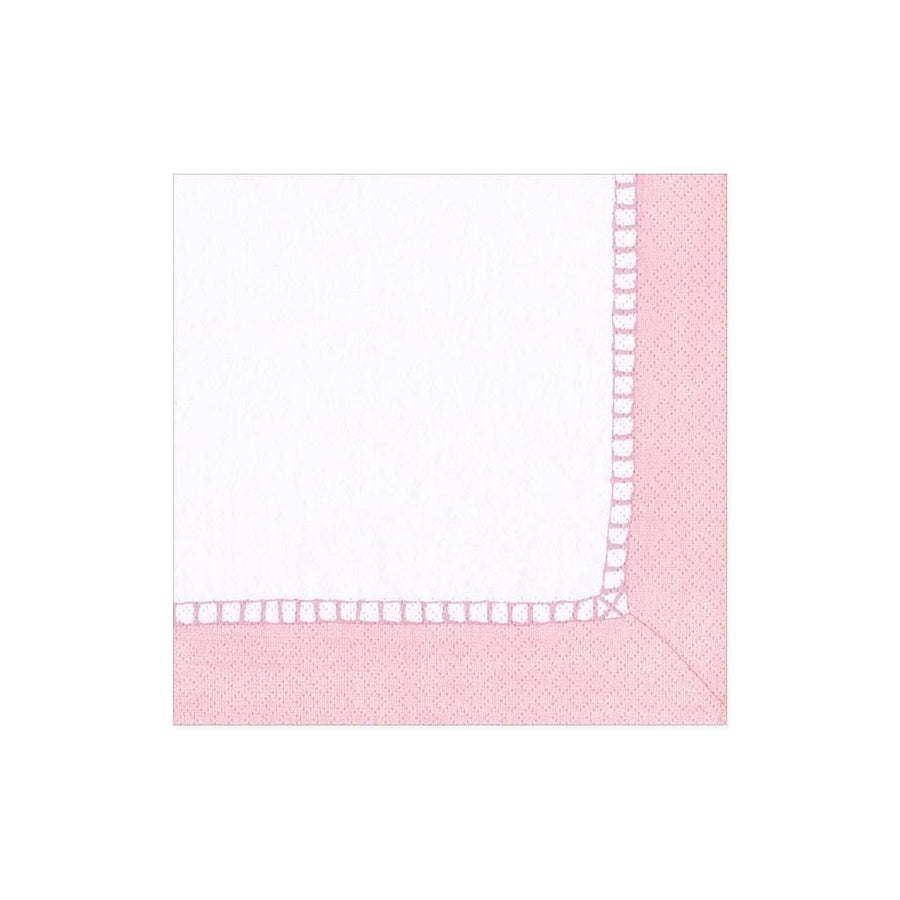 20 Paper Napkins - Linen Border - Aurina Ltd
