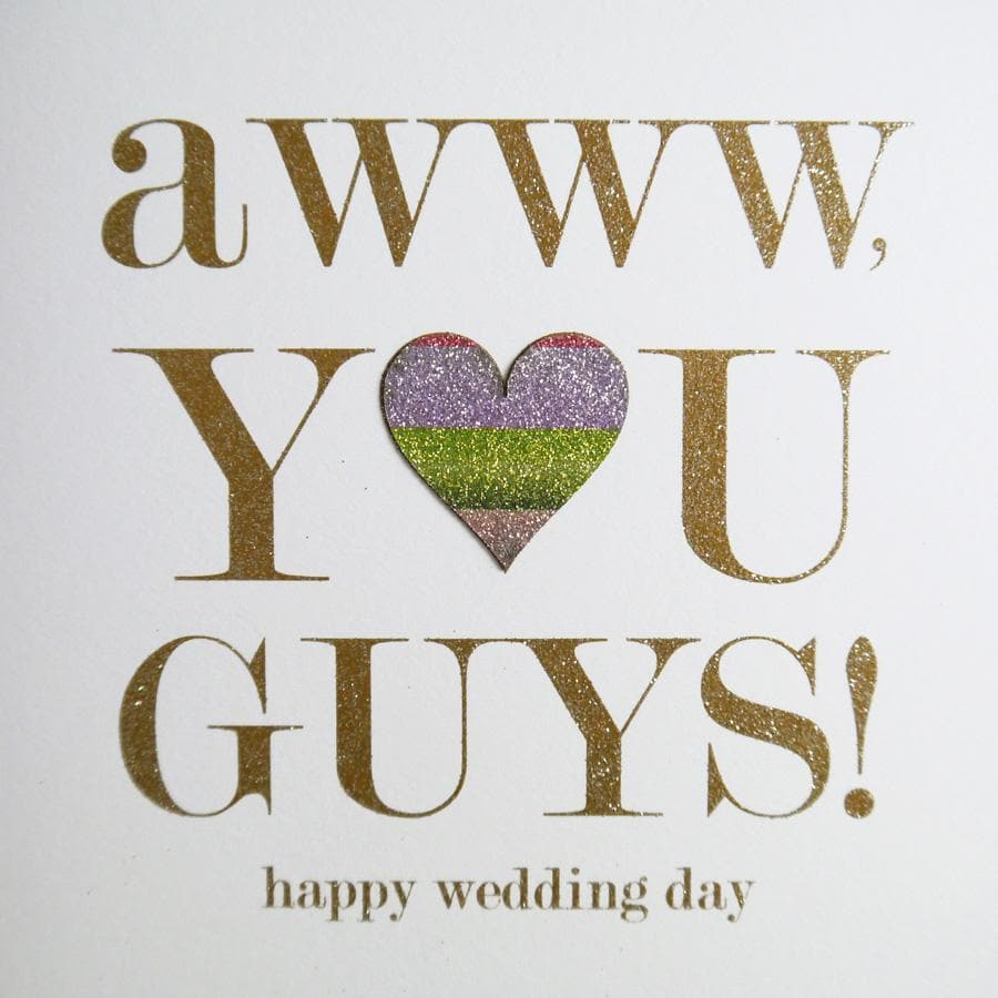 AWW you guys card - Aurina Ltd