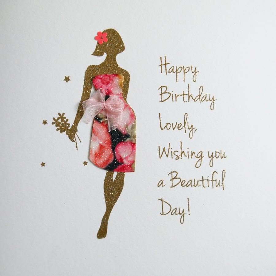 Happy Birthday Lovely Card - Aurina Ltd