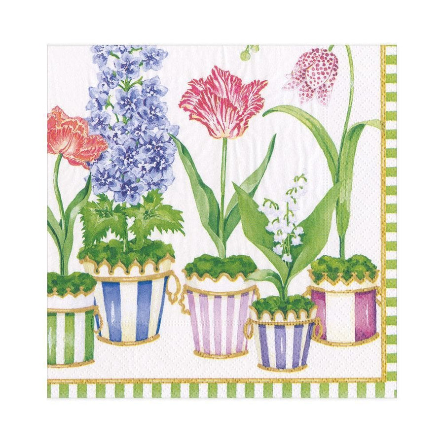 20 Paper Napkins - Window Garden - Aurina Ltd