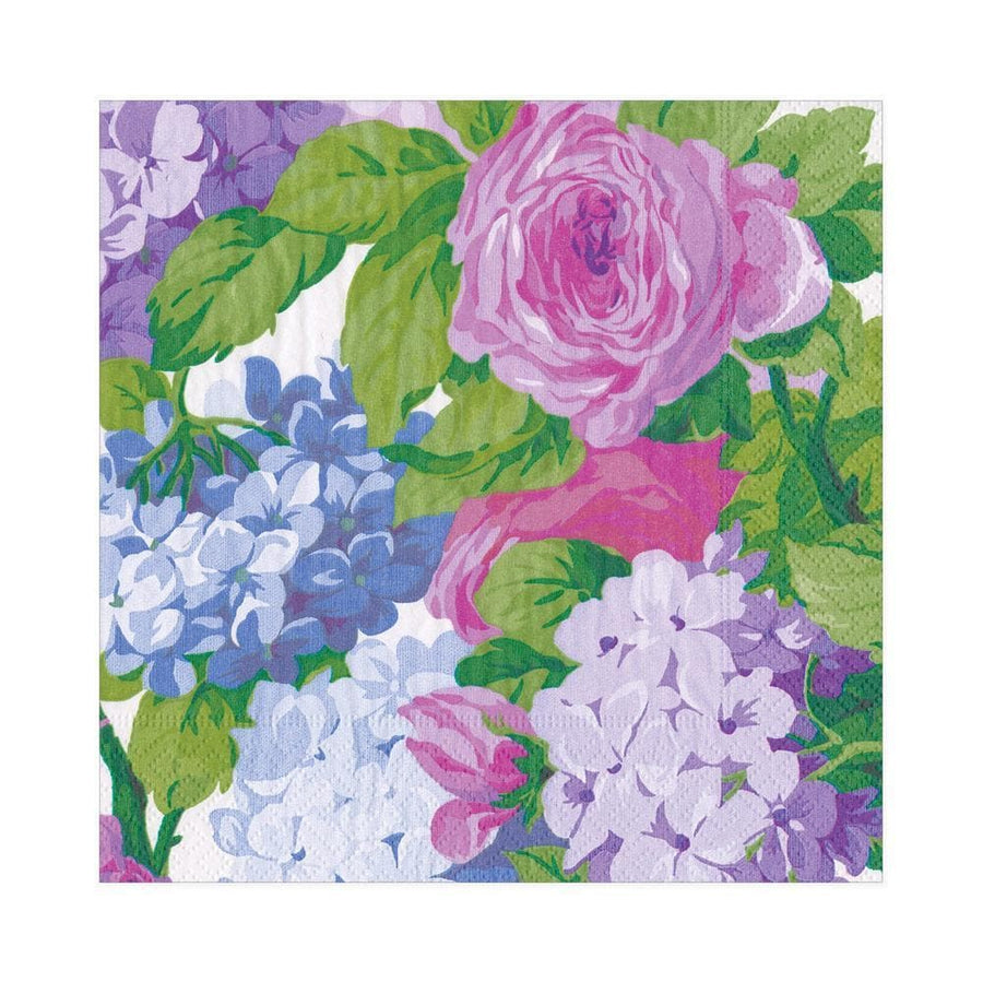 20 Paper Napkins - English Chintz Print - Aurina Ltd