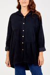 Corduroy Button Top - Aurina Ltd