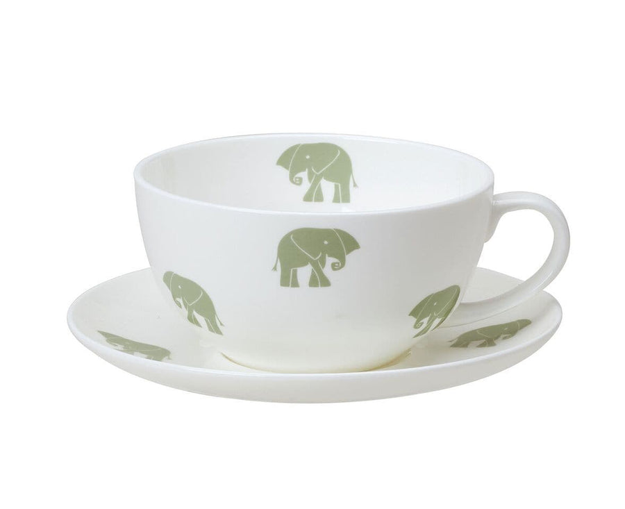Nellie Bone China Breakfast Cup and Saucer
