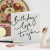 Oh Squirrel Birthday Card - Aurina Ltd