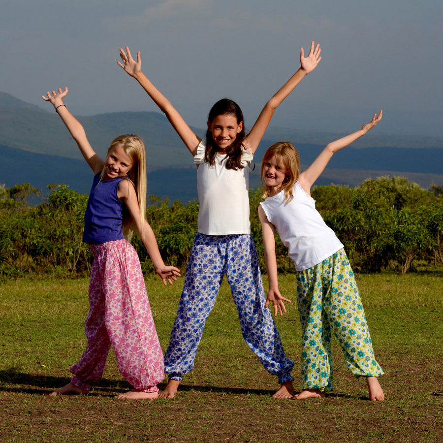 Sandfish Girls Balloon Trousers - Aurina Ltd