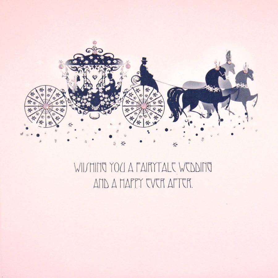 Fairytale Wedding Card - Aurina Ltd