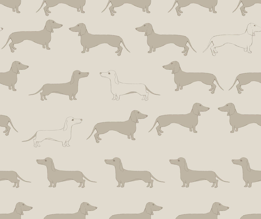 Dachsie - Linen and Stone - Fabric - aurina-ltd-2