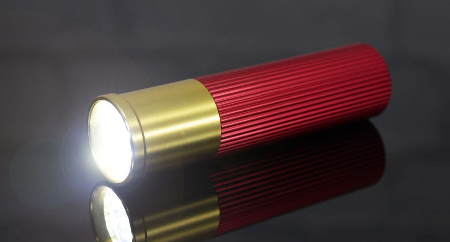 Shot Gun Cartridge LED Torch
