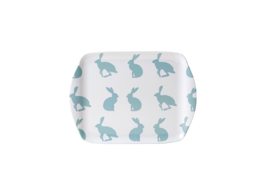 Hetty Hare Small Melamine Tray - Aurina Ltd
