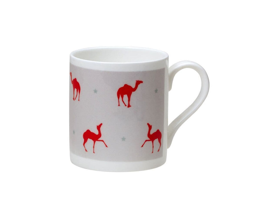 Meredith Camel Small Bone China Mug - Aurina Ltd