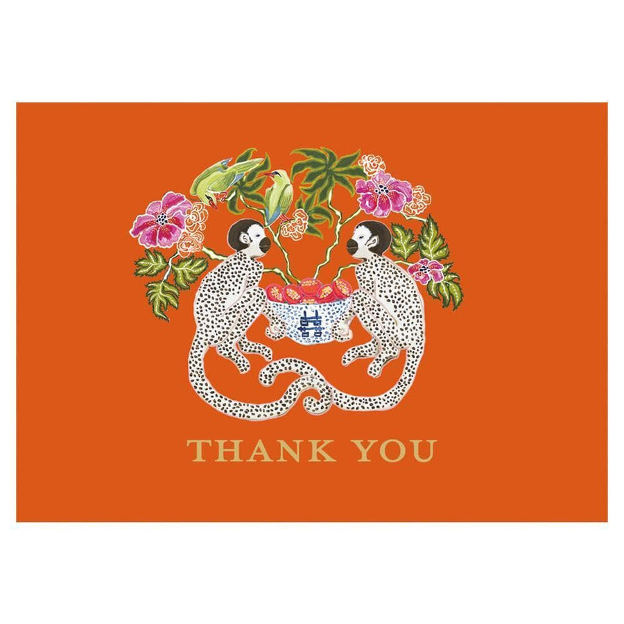 Monkey Thank You Notes - Aurina Ltd
