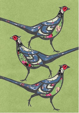 Christmas Card Packs - Three Birds