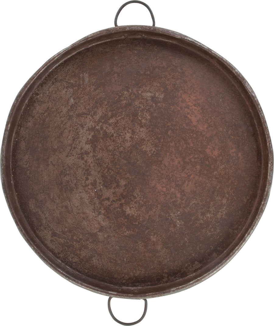 Iron round tray - Aurina Ltd