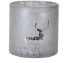 Extra Large Forest Mirrored Candle Holder