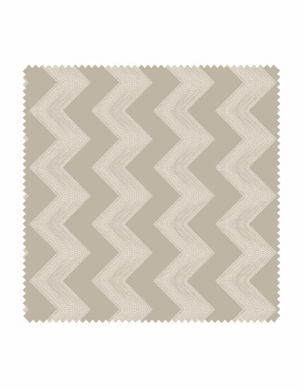 Dotty Chevron Wallpaper - Aurina Ltd