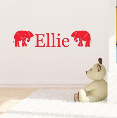 Nellie Personalised Wall Stickers - Aurina Ltd