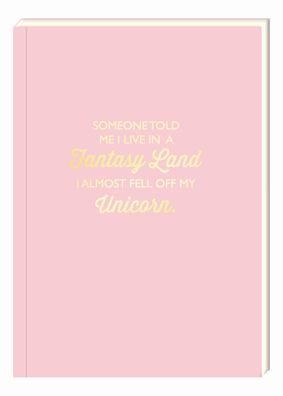 Fantasy Land Notebook