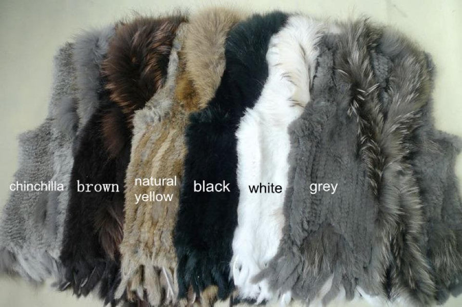 Fur Gilet - Aurina Ltd