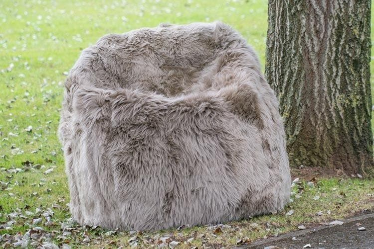 Giant Sheepskin Bean Bag - Aurina Ltd