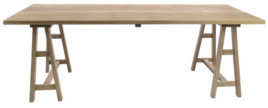 Large Tresle Table - Aurina Ltd