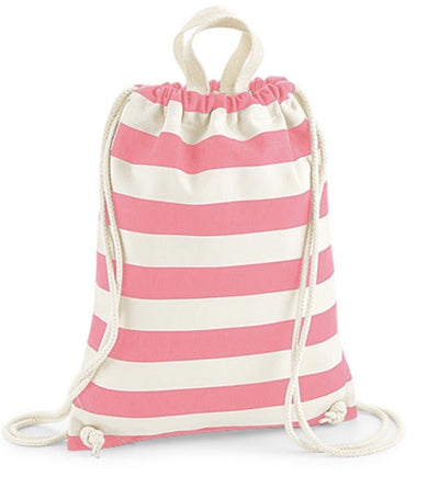 Nautical Stripe Drawstring Bag with or without Personalisation,Bags,aurina-ltd-2.