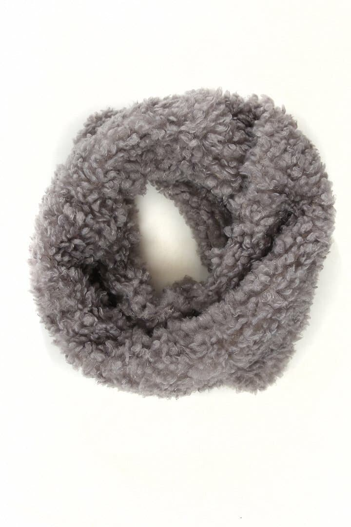 Faux Sheepskin Snood -  - aurina-ltd-2