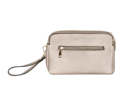 Triple Zip Cross Body - Aurina Ltd
