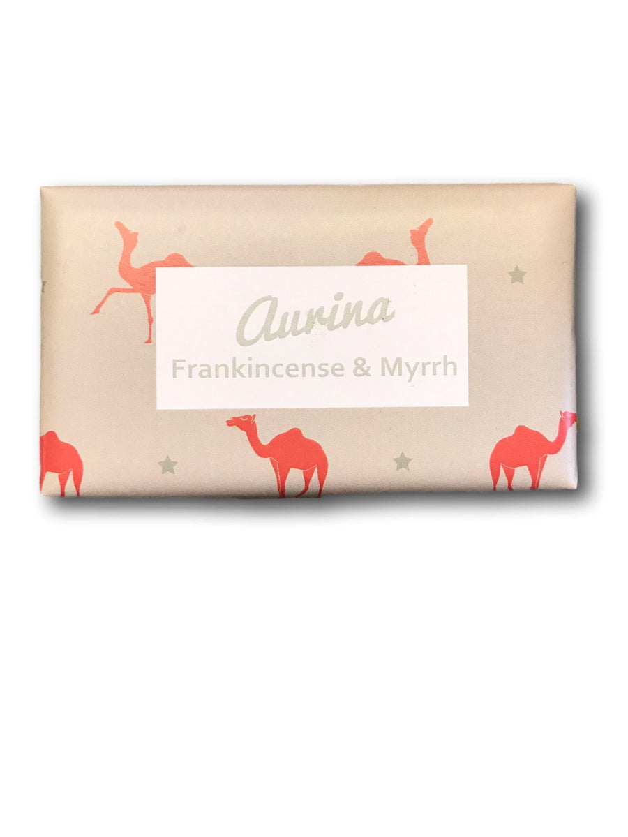 Frankincense & Myrrh Soap - Aurina Ltd