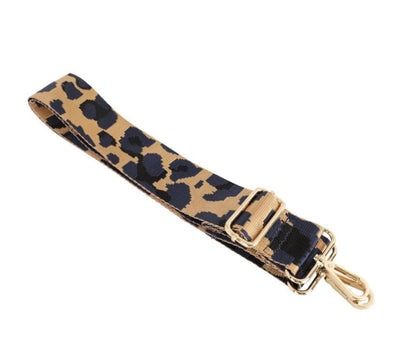 Navy Camo Bag Strap - Aurina Ltd