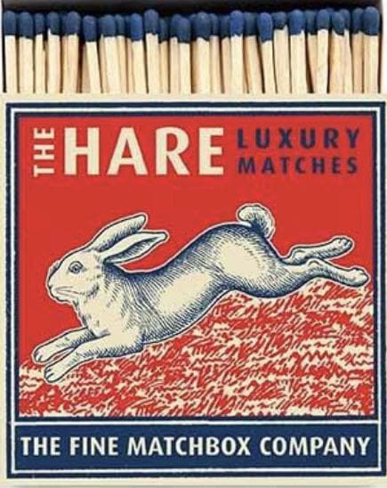 The Hare Luxury Square Matches - Aurina Ltd