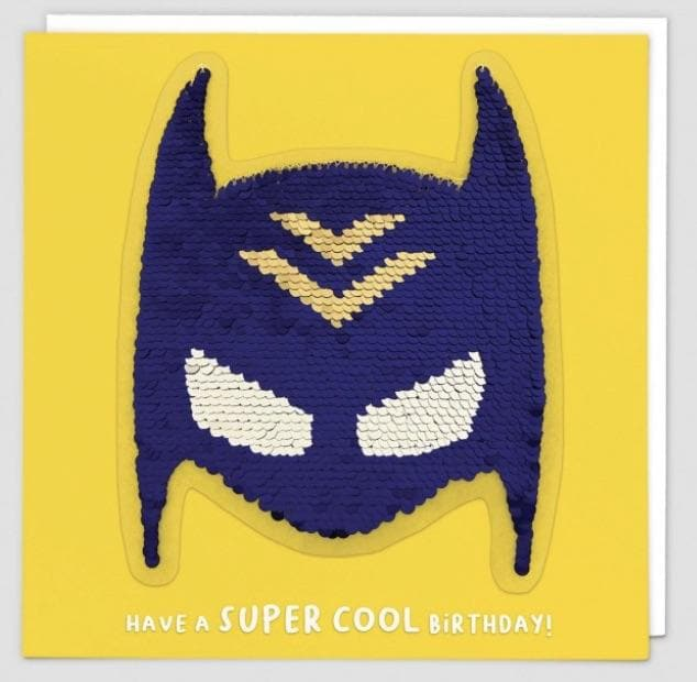Sequin Card Have a super cool birthday