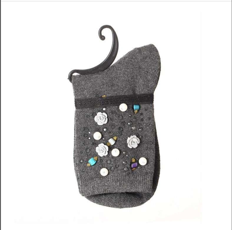 Pretty Jewelled Sock -  - aurina-ltd-2