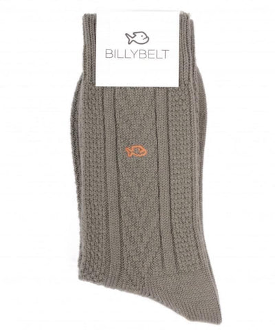 Billy Belt Men's Wool Cotton Socks - Aurina Ltd