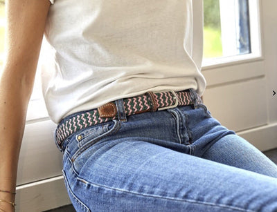 The Berlin Women's Woven Belt - Aurina Ltd