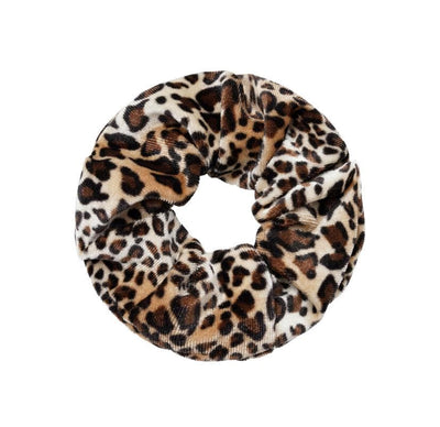Velvet Animal Scrunchie - Aurina Ltd