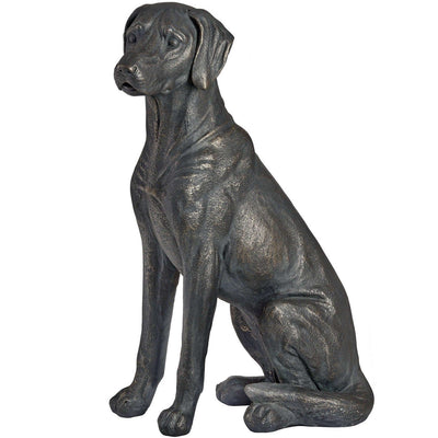 Charming Sitting Labrador Statue - Aurina Ltd