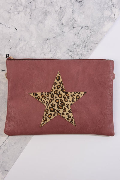 Star Motif Clutch Bag - Bags - aurina-ltd-2