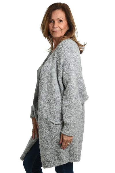 Textured Cosy Cardigan - Aurina Ltd