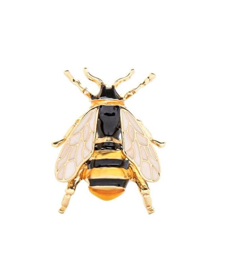 Bumble Bee Brooch - Aurina Ltd