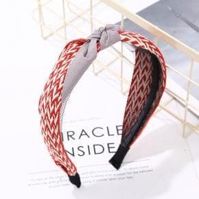 Two Tone Woven Headband - Headband - aurina-ltd-2