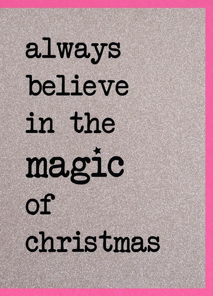Magic of Christmas/May you never be too old Packs of Christmas Cards - Aurina Ltd
