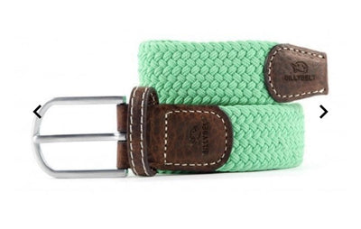 Bright Green Woven Belt - Aurina Ltd